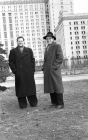 R. Frum-Ketkov, A. Ershov – post-graduate students of MSU. 1956