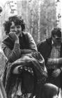 At the picnic: L. Alabina and Ya. Kurlyandchik. 1973