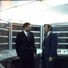 G.I. Marchuk and N.V. Kul'kov near BESM-6 computer